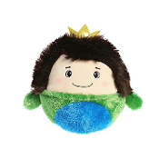 "Aurora 7"" Flipped Friends Frog Prince Plush"