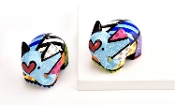 Romero Britto Salt and Pepper Shaker Set