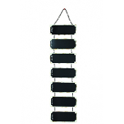 Hanging Days of the Week Black Board Organizer