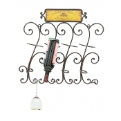 Upper Deck Wall Wine Rack
