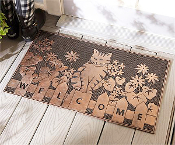 Giftcraft Cat Welcome Rubber Mat