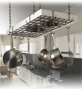 Rogar Gourmet Rectangle Pot Racks