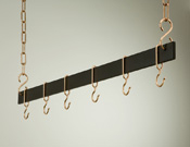 "Rogar Hanging 42"" Bar Pot Rack"