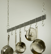 "Rogar Hanging 48"" Bar Pot Rack"