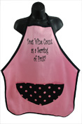 Wild Hare Designs Apron – Does Wine Count as a Serving of Fruit?