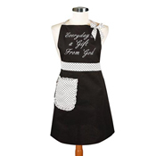 Sassy Style Cook's Apron - Everyday is a Gift From God