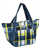 Kora Grey Plaid lunch bag